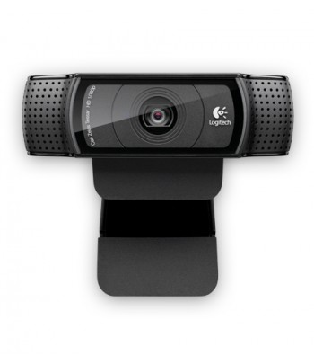 Logitech HD Pro C920 webcam 1920 x 1080 pixels USB 2.0 Black