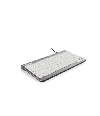 BakkerElkhuizen UltraBoard 950 keyboard USB QWERTY UK English Silver,White