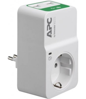 APC PM1WU2-IT surge protector 1 AC outlet(s) 230 V White