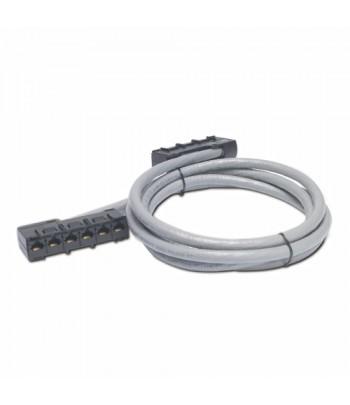 APC 69ft Cat5e UTP, 6x RJ-45 - 6x RJ-45 networking cable 21 m U/UTP (UTP) Grey