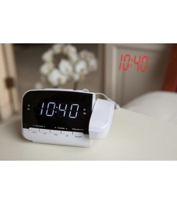 Salora CR618P alarm clock Digital alarm clock Black,White