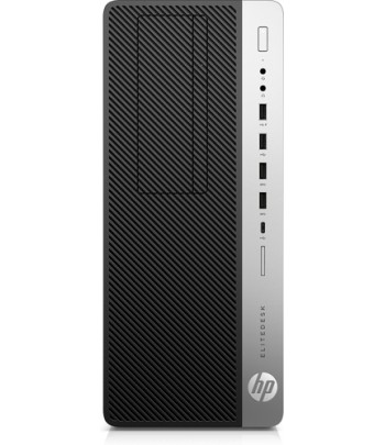 HP EliteDesk 800 G5 9th gen Intel Core i5 i5-9500 16 GB DDR4-SDRAM 512 GB SSD Black Tower PC