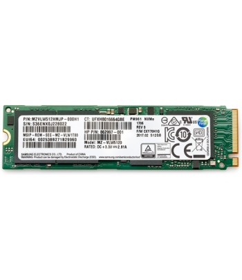 HP 6SK99AA internal solid state drive M.2 1000 GB PCI Express 3.0 TLC NVMe