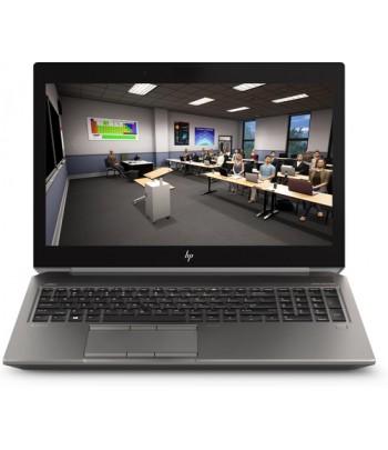 "HP ZBook 15 G6 Zilver Mobiel werkstation 39,6 cm (15.6"") 1920 x 1080 Pixels Intel Xeon E 64 GB DDR4-SDRAM 1000 GB SSD NVIDIA Qu"