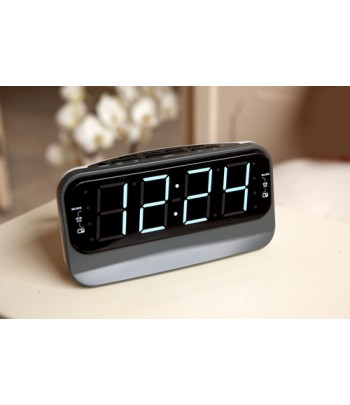 Salora CR616 Digital alarm clock Black,Grey,White alarm clock