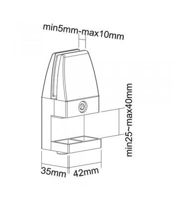 Ices IMPR-112 Draagbaar Wit radio