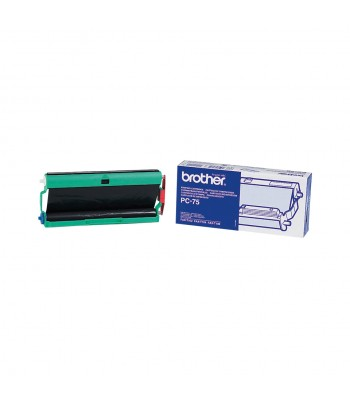 Brother PC-75 fax supply Fax cartridge + ribbon 144 pages Black 1 pc(s)