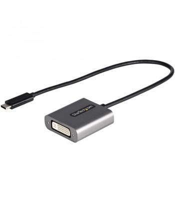 StarTech.com USB C to DVI Adapter - 1920x1200p USB-C to DVI-D Adapter Dongle - USB Type C to DVI Display/Monitor - Video Convert