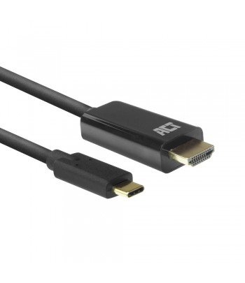 ACT AC7315 video cable adapter 2 m USB Type-C HDMI Type A (Standard) Black