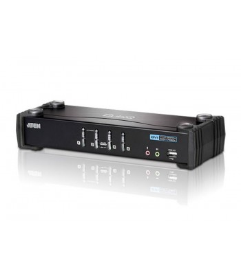 Aten CS1764A Zwart KVM-switch
