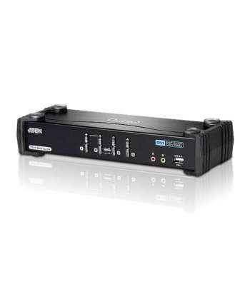 Aten CS1784A Zwart KVM-switch