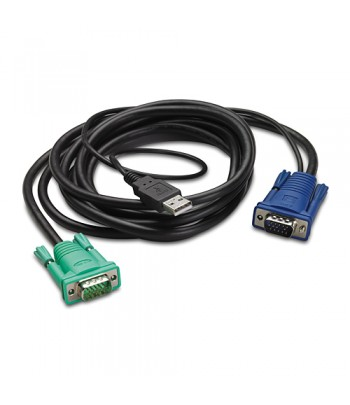 APC AP5821 1.8m Black KVM cable