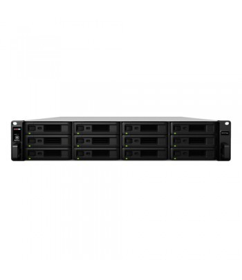 Synology RX1217sas Rack (2U) Black disk array