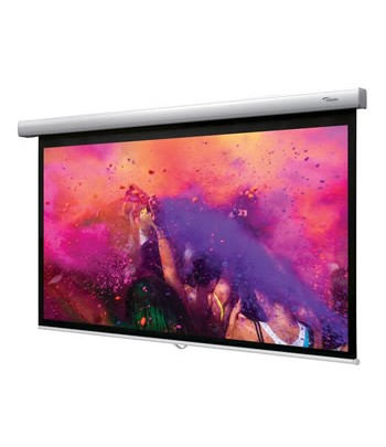 "Optoma DS-9106MGA 106"" 16:9 White projection screen"