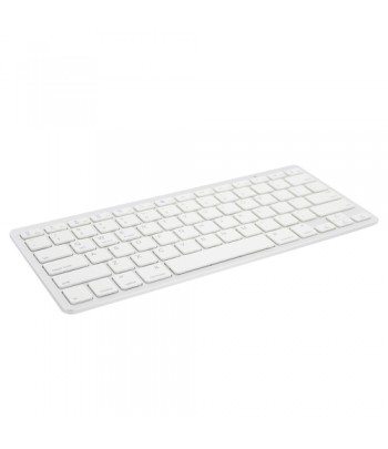 Ewent EW3168 Bluetooth AZERTY Belgian Silver,White mobile device keyboard