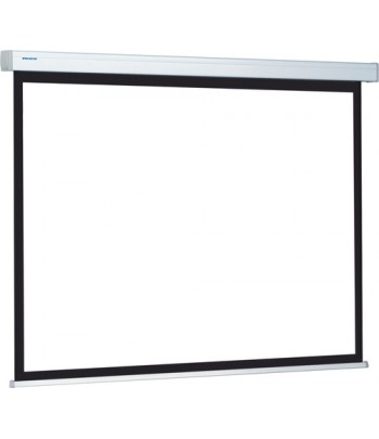 """Projecta Compact Electrol 220 x 220 119.7"""" 1:1 White projection screen"""