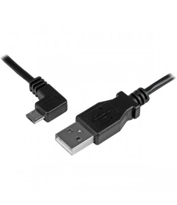 StarTech.com Micro-USB Charge-and-Sync Cable M/M - Left-Angle Micro-USB - 24 AWG - 2 m (6 ft.)