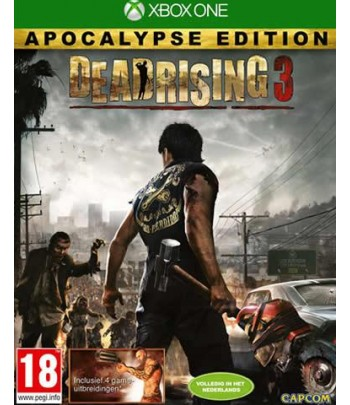 Microsoft Dead Rising 3 Apocalypse Edition, Xbox One Basic+Add-on+DLC Xbox One video game