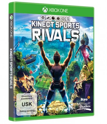 Microsoft Kinect Sports Rivals, Xbox One Basic Xbox One French video game