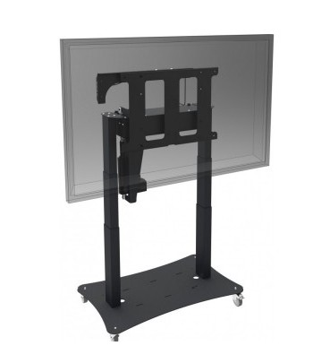 "iiyama MD 062B7650 55"" Fixed flat panel floor stand Black flat panel floorstand"