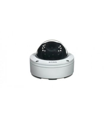 D-Link DCS-6517 IP security camera Buiten Dome Wit bewakingscamera