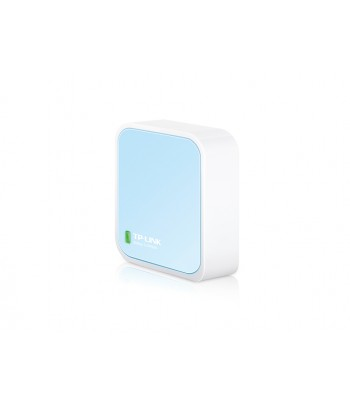 TP-LINK TL-WR802N Single-band (2.4 GHz) Fast Ethernet Blue, White wireless router