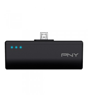 PNY P-B2200-M-K01-RB Lithium-Ion (Li-Ion) 2200mAh Black power bank