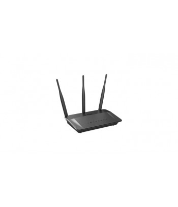 D-Link DIR-809 Dual-band (2.4 GHz / 5 GHz) Fast Ethernet Black wireless router