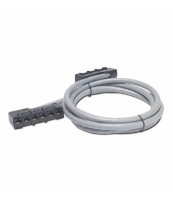 APC 51ft Cat5e UTP, 6x RJ-45 - 6x RJ-45 15.54m Cat5e U/UTP (UTP) Grey networking cable