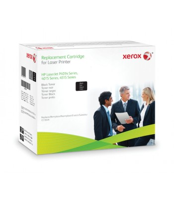 Xerox Black toner cartridge. Equivalent to HP CC364A. Compatible with HP LaserJet P4014, LaserJet P4015, LaserJet P4515