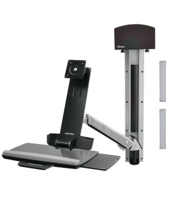 "Ergotron StyleView Sit-Stand Combo System 24"" Aluminium"