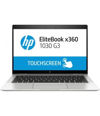 "HP EliteBook x360 1030 G3 Silver Hybrid (2-in-1) 33.8 cm (13.3"") 1920 x 1080 pixels Touchscreen 1.80 GHz 8th gen Intel Core i7"