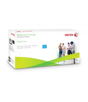 Xerox Cyan toner cartridge. Equivalent to Brother TN329C. Compatible with Brother HL-L8350, MFC-L8850